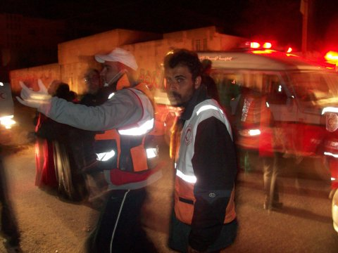 Red Crescent Medics and Disaster Management team continue round the clock