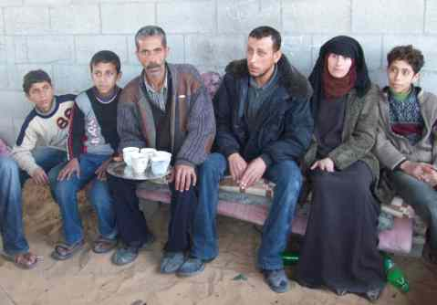 Al Helou family - Amer and Shireen on the right