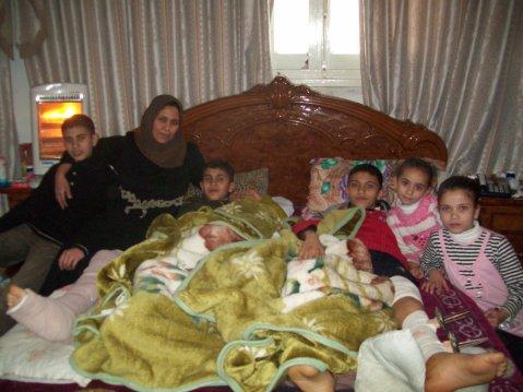 Mohanned, Majda, Firas, Basher, Tala, Dima