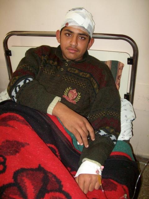 Yasser Abd, 15 years old