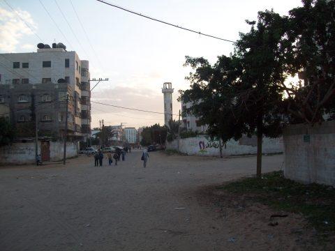 tanks were beside mosque