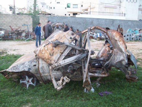 Haddad car, brothers of Ahsan and Adi Haddad in background