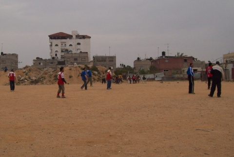Rain didn't stop play in Rafah