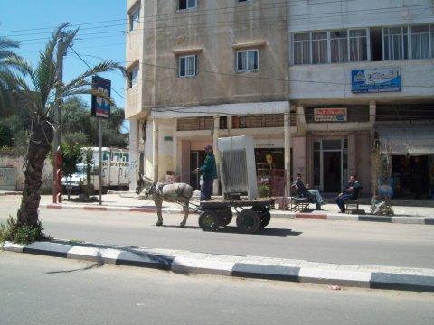 Around Gaza with a fridge...