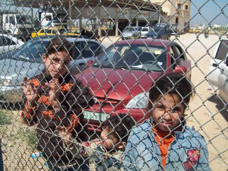 Rafah Border: the wrong side of the fence